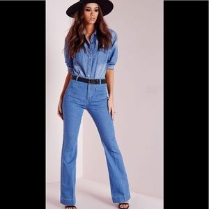 Missguided 70's Flared Jeans